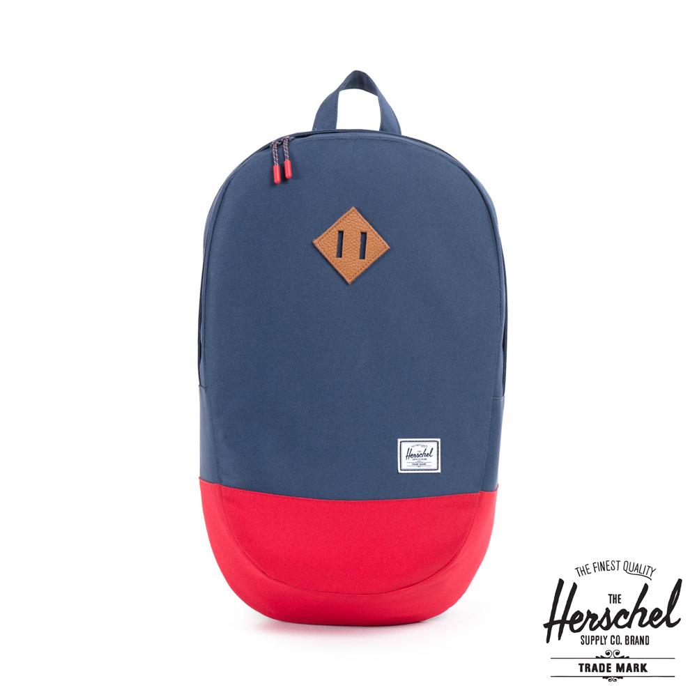 Herschel Crown 後背包-藍紅拼接