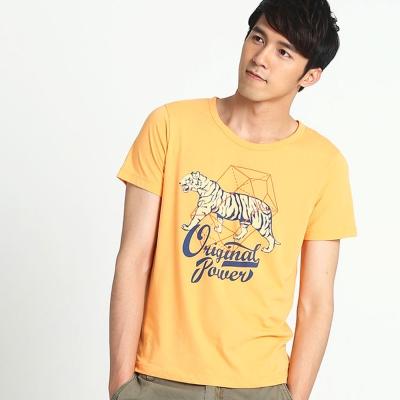 101原創 原力涼感T恤上衣-粉橘