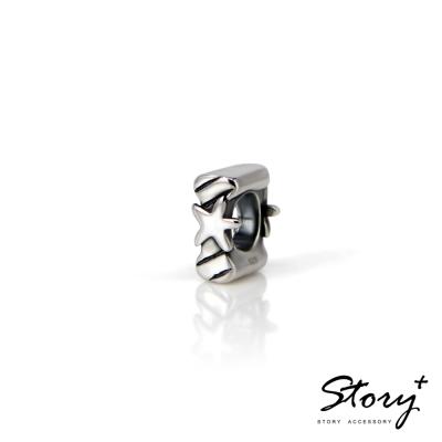 STORY故事銀飾-串珠墜飾-字母珠 I