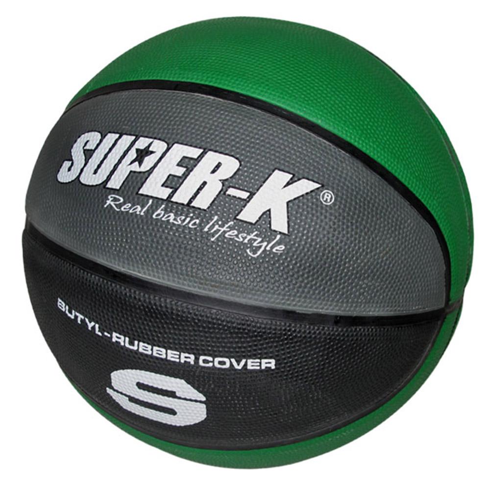 美國品牌【SUPER-K】7號橡膠深溝籃球SBCF702B