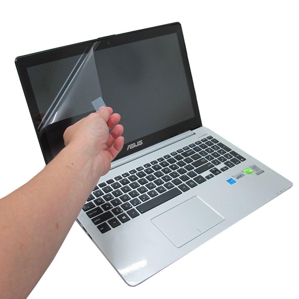 ASUS S551 S551L(觸控款) 專用靜電式筆電LCD液晶螢幕貼