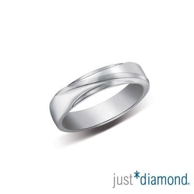Just Diamond 愛戀情迷男女對戒-男戒