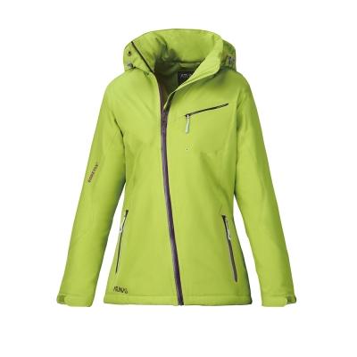 歐都納 GORE-TEX 女款單件式科技纖維防水外套 A-G1329W 亮綠