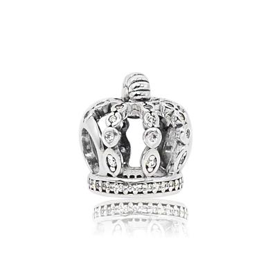 Pandora 潘朵拉 魅力鑲鋯童話之冕 純銀墜飾 串珠