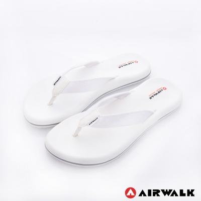美國 AIRWALK柔軟輕量夾腳人字拖鞋 女款(白色)
