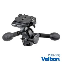 Velbon PHD-55Q 雙握把三向雲台-公司貨