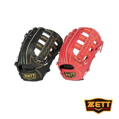 ZETT 3900系列全牛棒壘手套 野手通用 BPGT-3938