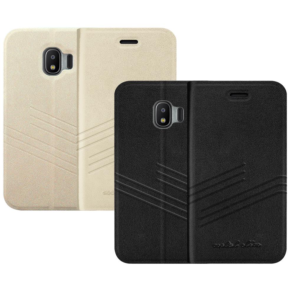 Metal-Slim Samsung Galaxy J2 Pro 2018 壓紋皮套