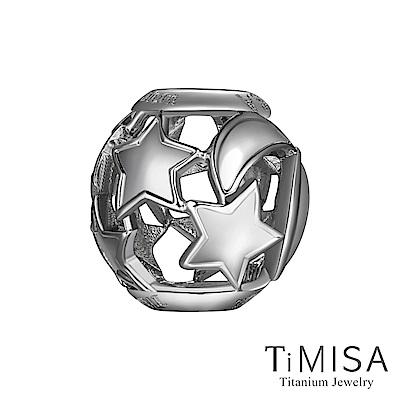 TiMISA 浪漫星月 純鈦飾品 串珠
