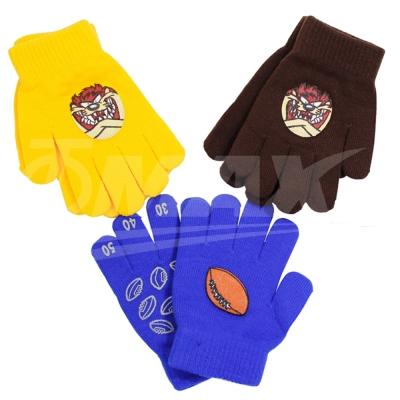 兒童多款式針織保暖手套-2雙-快