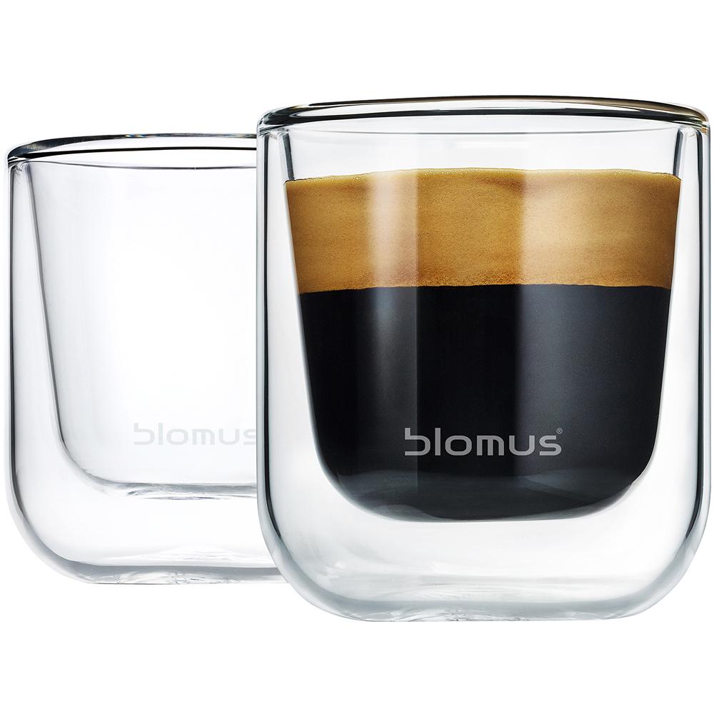 BLOMUS Nero雙層濃縮咖啡杯2入(80ml)