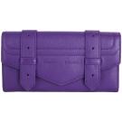 PROENZA SCHOULER PS1 山羊皮革釦式長夾(紫色)