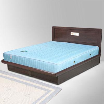 Homelike 朵拉5尺掀床組+獨立筒床墊-雙人(二色任選)