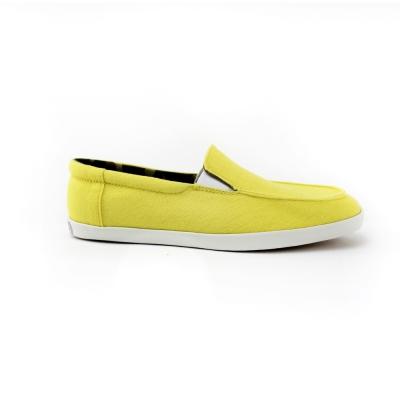 【美國AIRWALK】率性帆布鞋-女款(淺黃色)