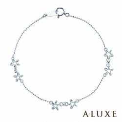 A-LUXE 亞立詩 Shine 絢麗海星18K金手鍊