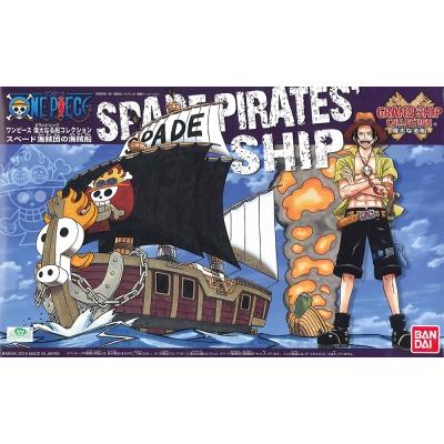 BANDAI 航海王組合模型 偉大之船 火拳艾斯 黑桃海賊團海賊船 12(8Y+)