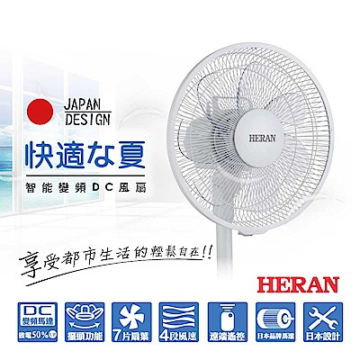 HERAN 禾聯 智能變頻DC風扇HDF-12M1
