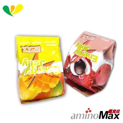 aminoMax邁克仕 ENERGE JELLY 能量晶凍(荔枝)(芒果)(各10顆)