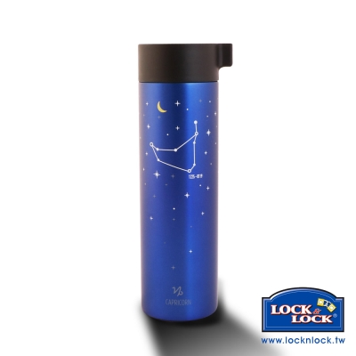 樂扣樂扣 Hot&Cool系列星座不鏽鋼保溫杯-400ML(摩羯座)