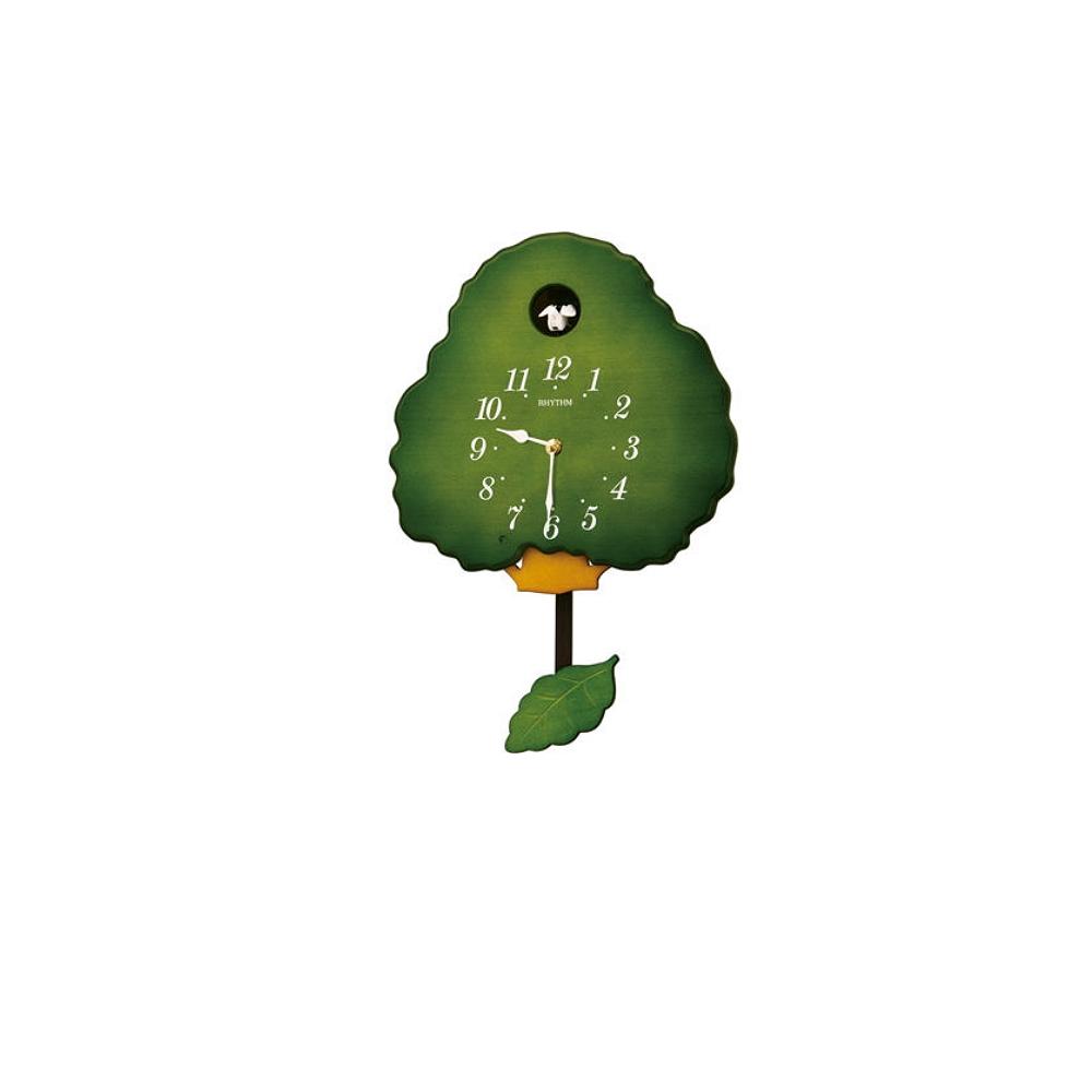 RHYTHM 日本麗聲 經典大樹 咕咕鐘 布穀鳥(4MJ413RH05)30X61cm