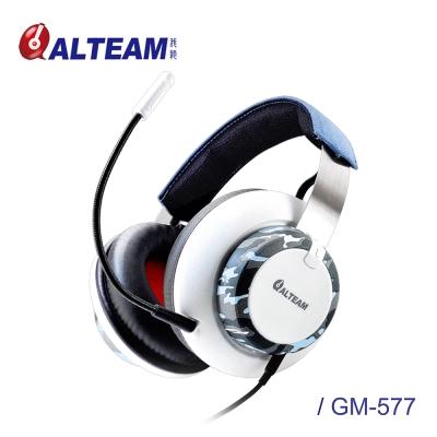 ALTEAM 我聽 GM-577迷彩電競耳麥