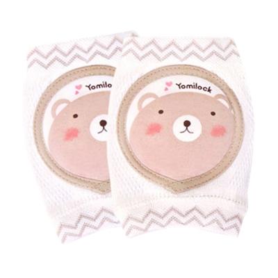 韓國 Yomilock小熊有機棉膝肘保護套