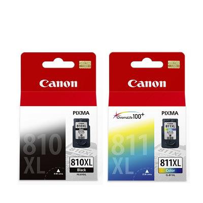 CANON PG-810XL+CL-811XL 原廠墨水匣組合(1黑1彩)