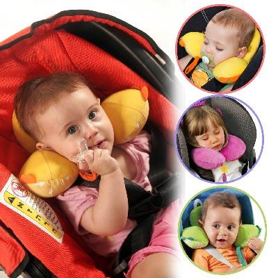 benbat兒童專用防落枕可愛動物造型護頸枕