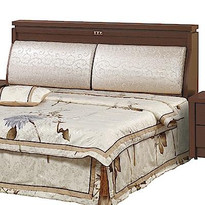 品家居 瑪琪6尺皮革雙人加大床頭箱(二色可選)-186x33.3x101cm免組