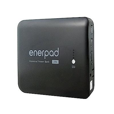 enerpad 攜帶式直流電 / 交流電行動電源 AC27KBK
