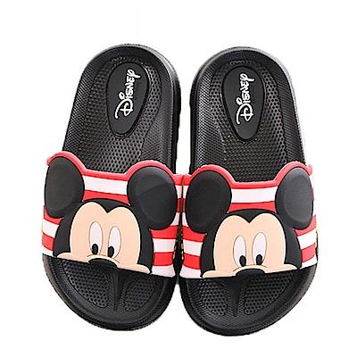 迪士尼米奇休閒拖鞋 黑 sk0249 魔法Baby