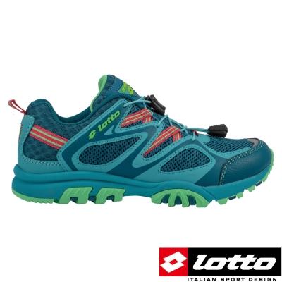 LOTTO-義大利-女-功能水陸車鞋III-湖水綠