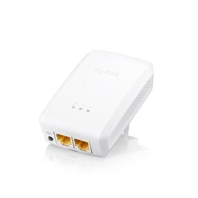 ZyXEL合勤 1000Mbps雙埠GbE電力線上網設備PLA-5206 V2