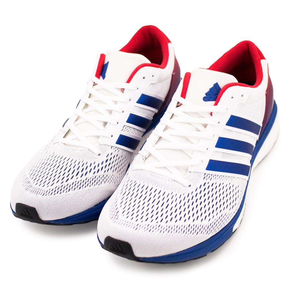 24H-ADIDAS-男慢跑鞋BA8145-白