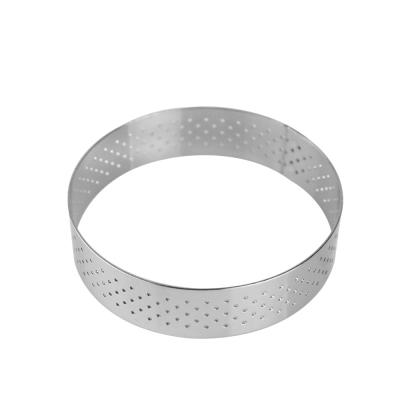 AURA艾樂 法式316不鏽鋼氣孔塔模(圓形)