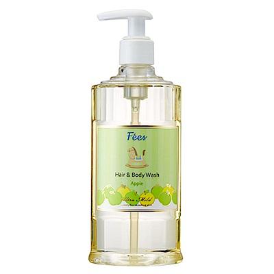 Fees法緻 嬰兒柔護洗髮沐浴精-蘋果香300ml