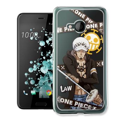 航海王 HTC U Play 5.2吋 透明軟式手機殼(封鎖羅)