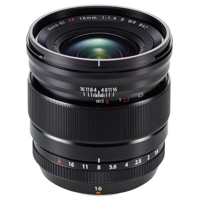 FUJIFILM XF 16mm F1.4 R WR 廣角定焦鏡頭 (公司貨)