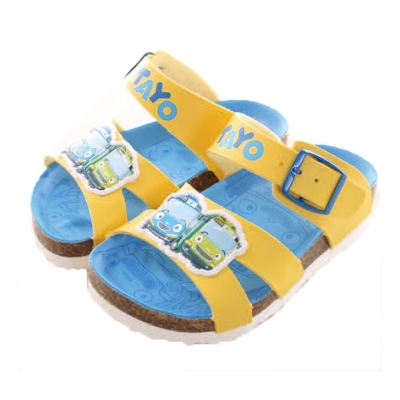 TAYO小巴士涼鞋 黃藍 sk 0054  魔法Baby
