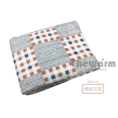 Thewarm韓國七段恆溫定時電熱毯(單人) 格紋花園