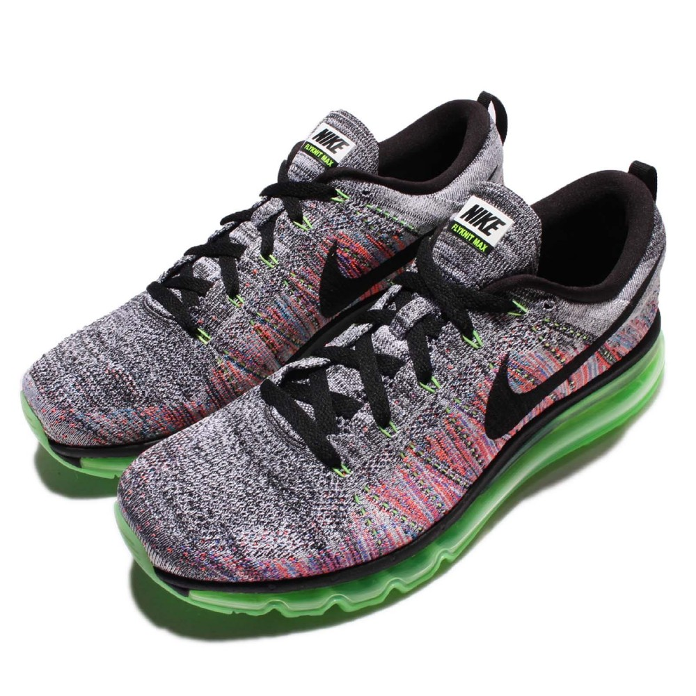 Nike慢跑鞋Flyknit Max全氣墊男鞋