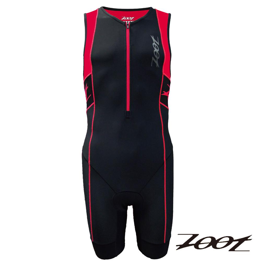 ZOOT專業級肌能連身鐵人衣(男)Z1506032(黑雅仕紅)