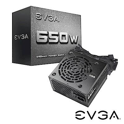 艾維克EVGA物超所值650W N1 電源供應器