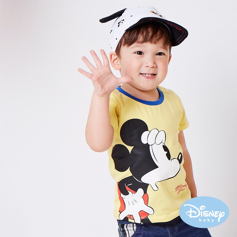 Disney baby 尋找米奇短袖上衣 黃色