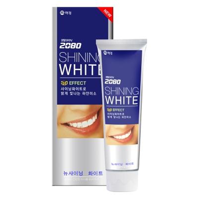 韓國2080 三重亮白修護牙膏(100gX2入)