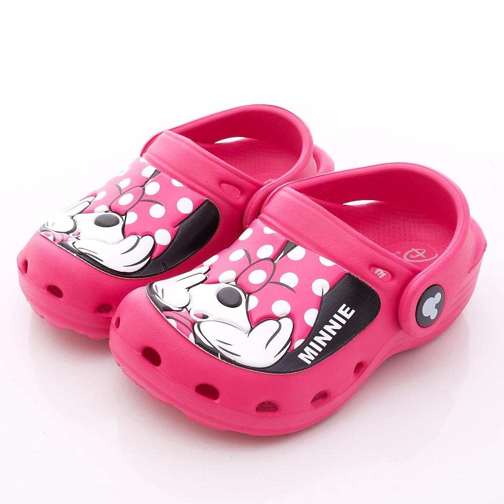 迪士尼童鞋-俏皮米妮涼鞋款-1463903桃(中小童段)HN