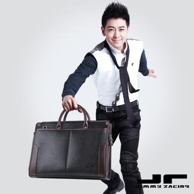 JimmyRacing榮耀再現男士公文包商務包手提包側背包