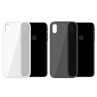 【SHOWHAN】 iPhone X 磨砂空壓手機殼