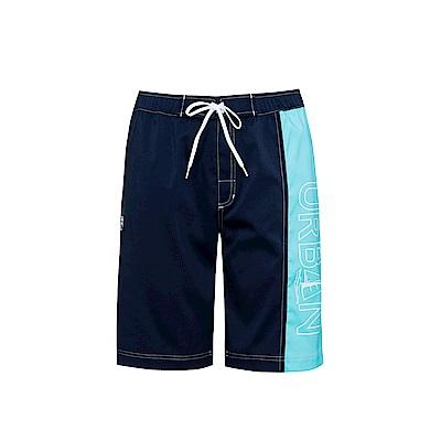 FILA 男平織短褲-丈青 1SHS-1709-NV