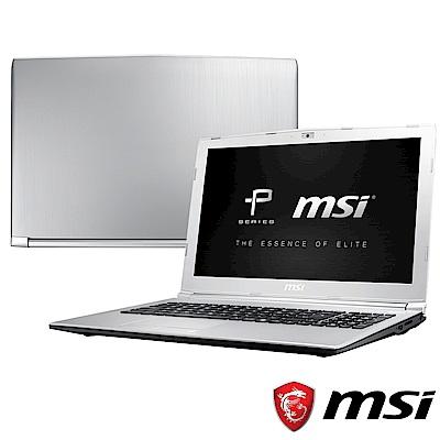 MSI微星 PL62-220 15吋筆電(i7-7700HQ/MX150/128G+1T